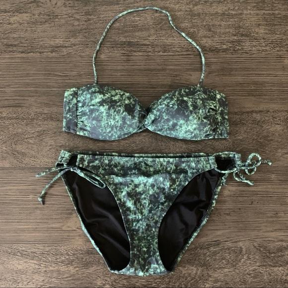 EUC Victorias Secret Maya Twist Bandeau Bikini